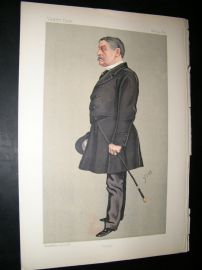 Vanity Fair Print: 1892 Henry William John Byng